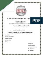 Multilingualism in India