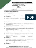 02 Iit Jee-2010 Maths