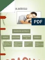Síndrome asténico