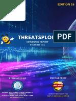 Threatsploit Adversary Report 2019