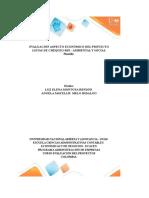 Evaluación Aspecto Económico Del Proyecto_Grupo 85 1