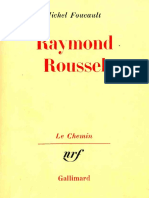 Michel Foucault Raymond Roussel 2