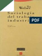 sociología del trabajo industrial