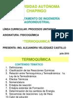 Unidad I-termoquimica-sesiones 1-2-3-Reacciones Químicas y Ley de Hess-2019-Sin Quiz