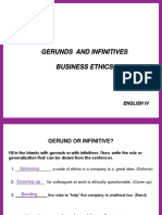 Gerunds and Infinitives Business Ethics (2)