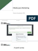 Social Media para Marketing