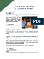 Universidad Autónoma de Chiapas_CACECA