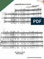 San Diego de Alcala Hymn