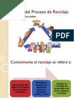 5. Etapas Del Proceso de Reciclaje, Materiales Reciclables