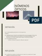 Fenómenos Ópticos - EXPO-A. Instru