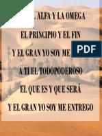 A Ti El Alfa y La Omega