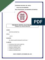 Proyecto FINALIZADO Central Solar Majes II