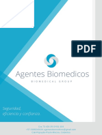 Portafolio de Servicios Agentes Biomédicos