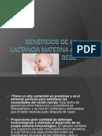 La Lactancia del bebe