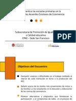 Acompañamiento a La Construcción de AEC Nivel Inicial y Primario