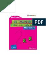 SANTILLANA Grafomotricidad PK Matemática