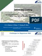 Mg Die Casting