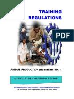 Animal Production (Ruminants) NC II