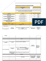 Caracterización de procesos de DESVINCULACIÓN