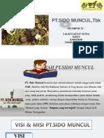 Kewirausahaan - PT. SIDO MUNCUL (Kelompok 4)