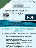Planificacion Financiera Estrategica Presentacion Powerpoint