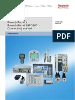 Rexroth Rho 4.1 Rexroth Rho 4.1/IPC300 Connectivity manual