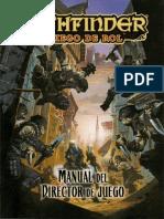 Pathfinder director de juego