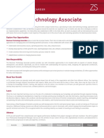 ZS FocusSheet - Pune - Business Technology Associate