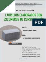 1. Proyecto de Investigacion. Grupo 3 Ecoladrillos (1)