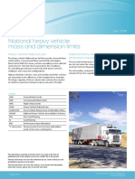201607 0116 Mass and Dimension Limits Truck Vehicles