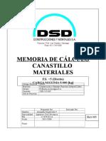 Memoria de Cálculo Rev-00