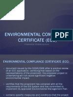 (ECC)Environmental Compliance Certificate