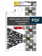 Informe delitos de odio España 2018