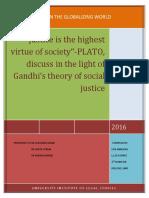 Plato Gandhi