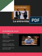 Apunte La Entrevista