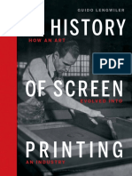 A History of Screen Printing