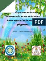 La Argentina Cartilla Huerta en Las Nubes Junio 2-2018