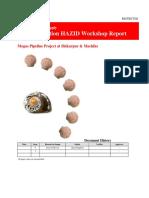 Construction HAZID Workshop Report PK Pipeline-Final