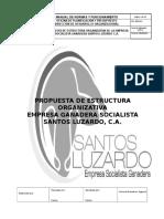 Esgsl Propuesta de Estructura Organizativa
