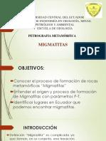 Pis Migmatitas Ecuador