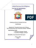 Proyecto Lacteos Word