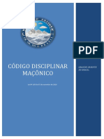 Código disciplinar maçônico