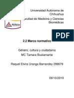 2.2 Marco Normativo