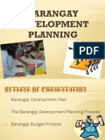 Bgy Development Planning
