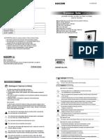 KOCOM Manual KVL Series