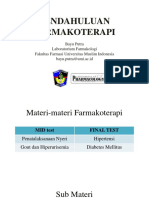 01. Pharmacotherapy 1