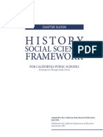 CA History Framework 2016 - Ch 11- Medieval & Early Modern Times