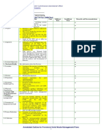 Provincial Annotated Outline1 for 10 year plan solidwaste management plan