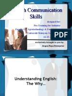 English Communication Skills - Notes
