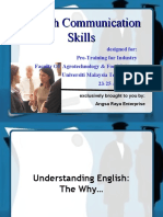 English Communication Skills - Notes